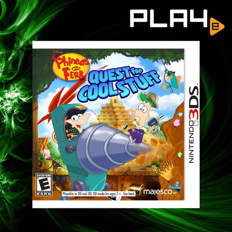 3DS Phineas and Ferb Quest for Cool Stuff
