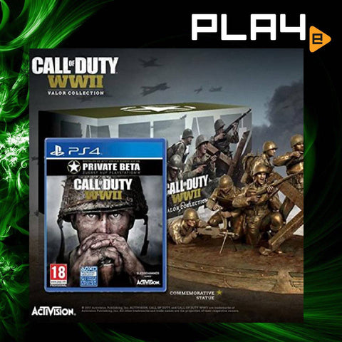 PS4 Call of Duty: WWII Valor Triforce Collection (R1)