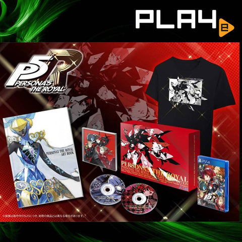 PS4 Persona 5: The Royal Straight Flush Edition (R3) + SleelBook
