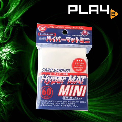 KMC Hyper Mat Mini 60PC White 62X89MM