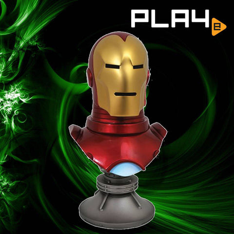 Legends Comic Marvel Iron Man 1:2 Scale Resin Bust