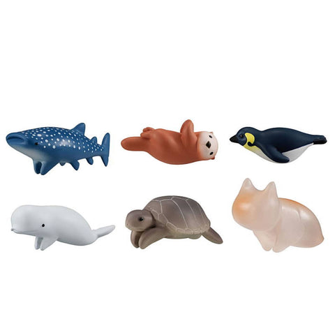 Hugcot Sea Animals Cable Capsule (Set of 6)
