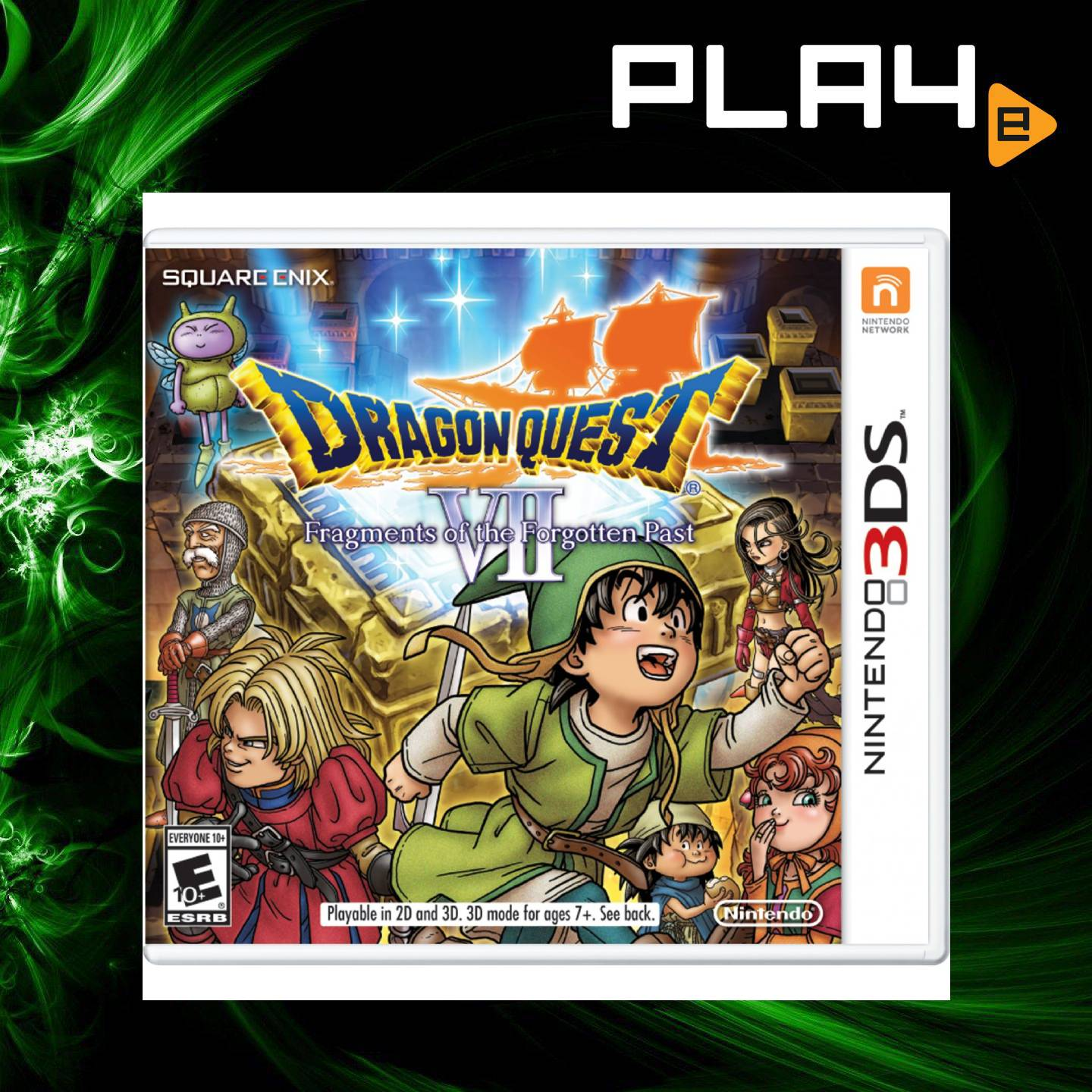 3DS Dragon Quest VII: Fragments of the Forgotten Past | PLAYe