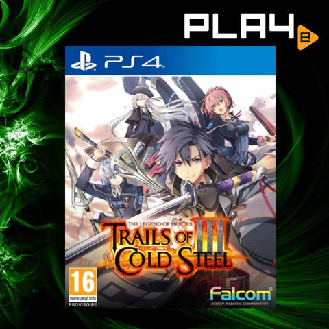 PS4 The Legend of Heroes: Trails of Cold Steel 3 (EU)
