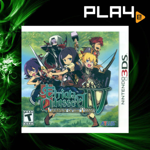 3DS Etrian Odyssey IV: Legends of the Titan