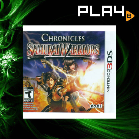 3DS Samurai Warrior Chronicles