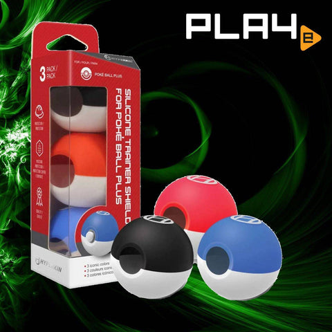 Hyperkin Silicone Shield Pokeball Plus 3 Pack