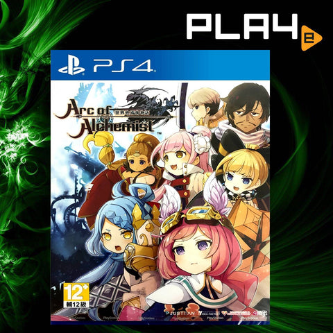 PS4 Arc of Alchemist (CHI)