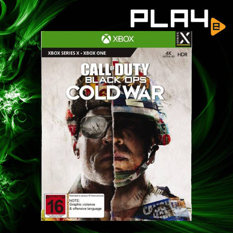 XBox Series X Call of Duty Black Ops Cold War (AU)
