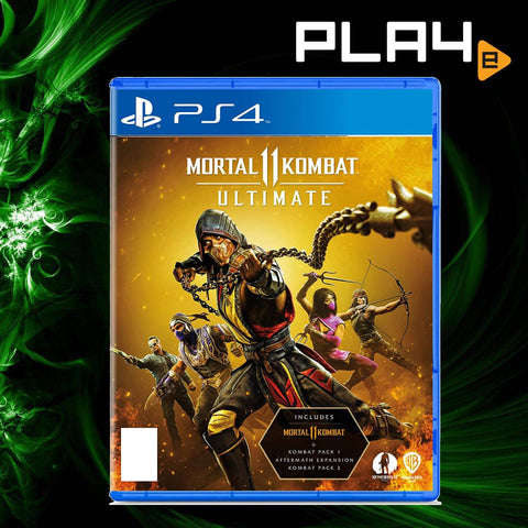 PS4 Mortal Kombat 11 [Ultimate Edition] (R3)