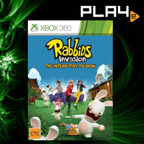 XBox 360 Rabbids Invasion The Interactive TV Show