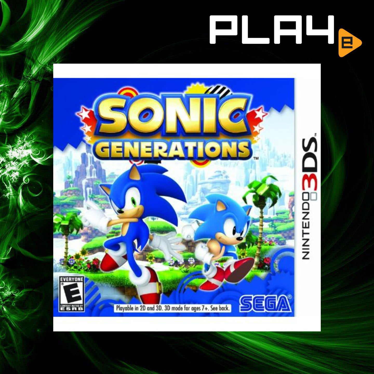 3DS Sonic Generations | PLAYe