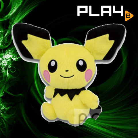 "Pokemon Mite Mite 6"" Plush Pichu"