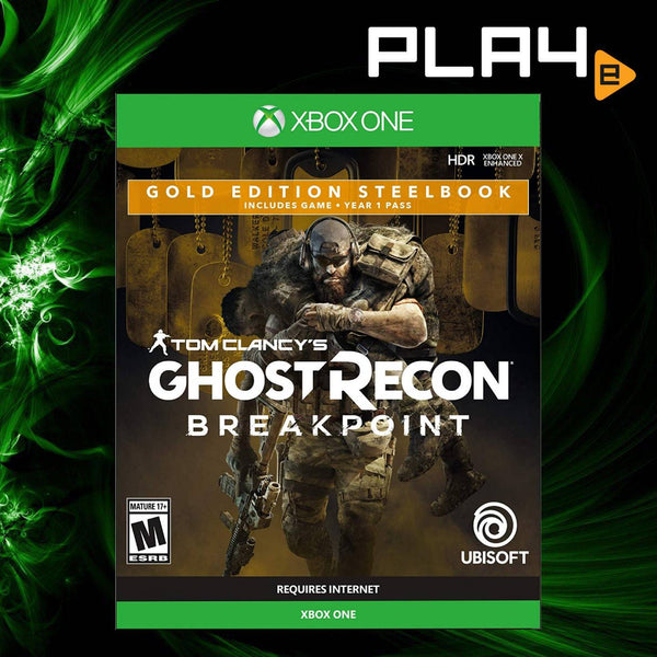 XBox One Tom Clancy's Ghost Recon: Breakpoint [Gold Edition Steelbook] (R1)