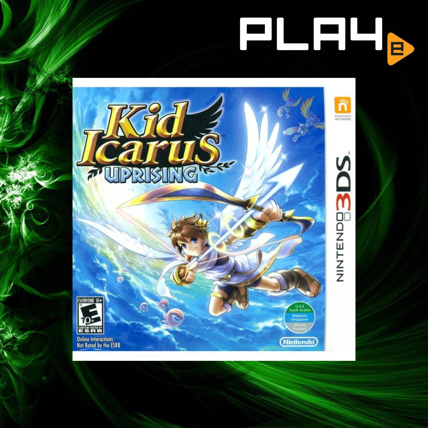 3DS Kid Icarus Uprising | PLAYe
