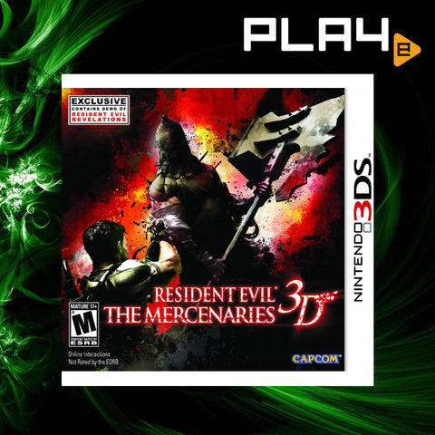 3DS Resident Evil The Mercenaries 3D (M16)