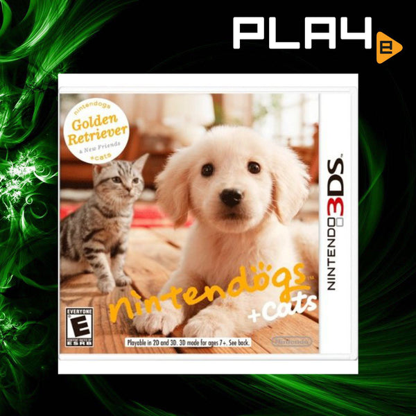 3DS Nintendogs + Cats: Golden Retriever & New Friends