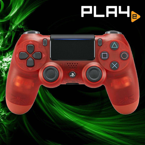 PS4 Dual Shock 4 Crystal Red