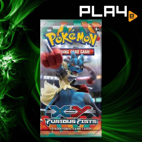 Pokemon XY3 Furious Fists Booster (6 Pack)
