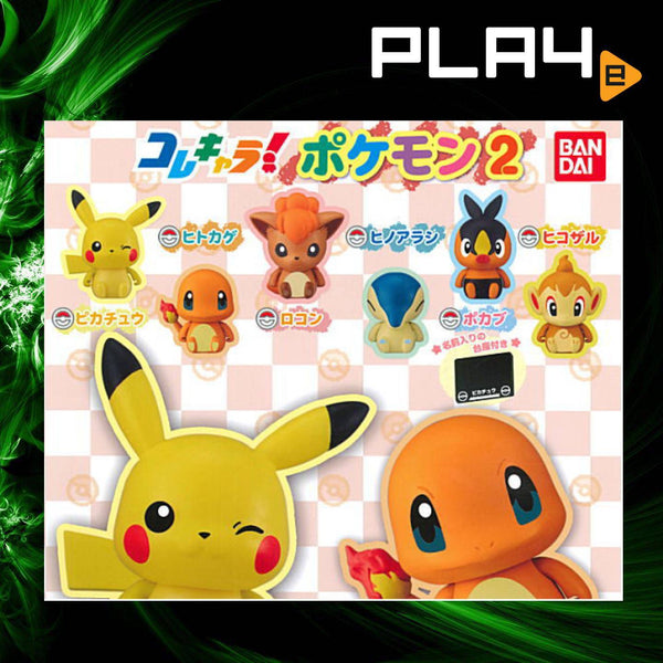 Collechara Pokemon Part 2 Capsule (Set of 6)