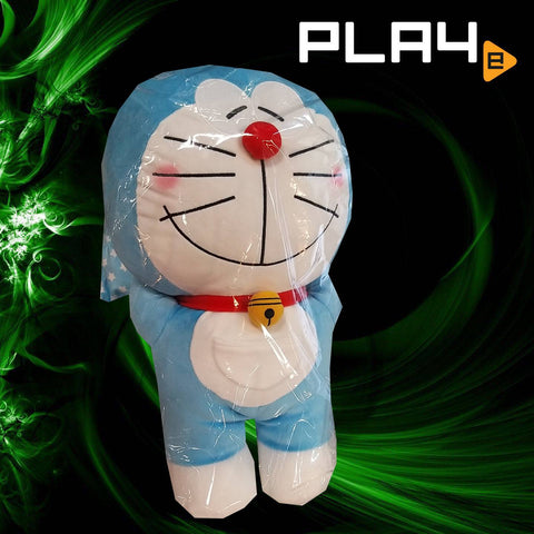 "Doraemon 18"" Big Plush - Blue Pillow Eyes Closed"