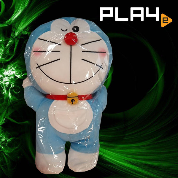 "Doraemon 18"" Big Plush - Pink Hat Wink"