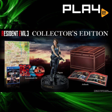 PS4 Resident Evil 3 [Collector's Edition] (R3)