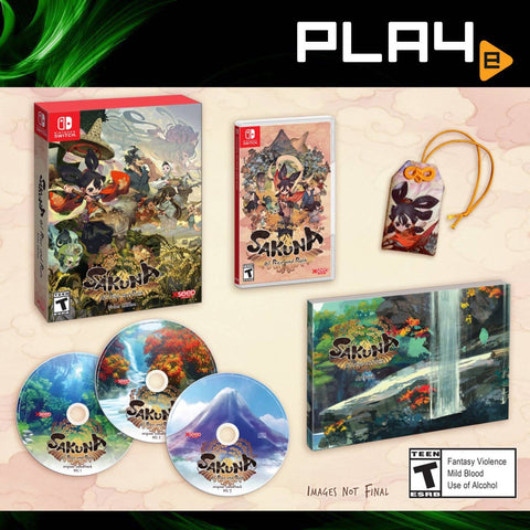 Nintendo Switch Sakuna: Of Rice and Ruin [Limited Edition] (Pre-Order)