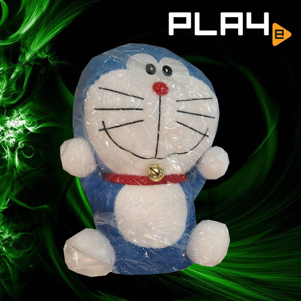 "Doraemon 16"" Big Plush With Bell Both Hands"