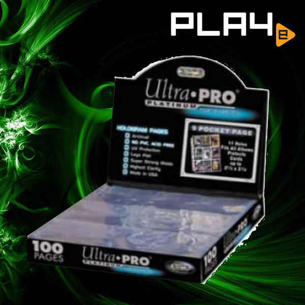 Ultra Pro 9-Pocket Page Box - Clear