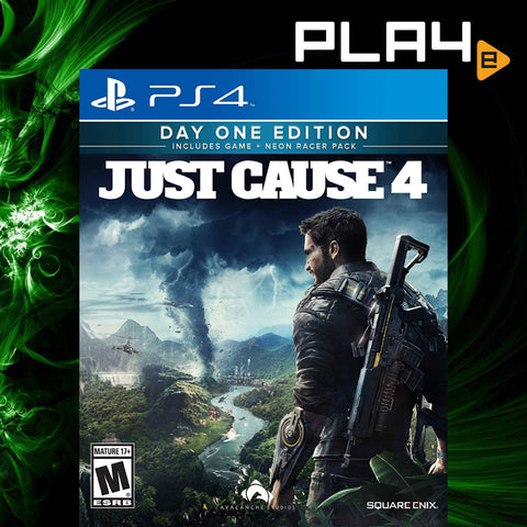 PS4 Just Cause 4 [Day One Edition] (English Subs) (R3)