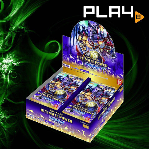 Digimon Card Game BT-02 Ultimate Power Booster