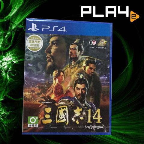PS4 Romance of the Three Kingdoms 14 Regular (Chinese)