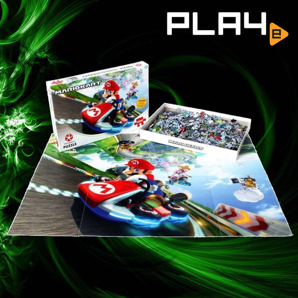 Winning Moves Puzzle Mariokart 1000pc Jigsaw Puzzle