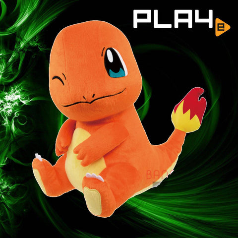 "Pokemon Mite Mite 13"" Plush - Charmander Wink Sit"