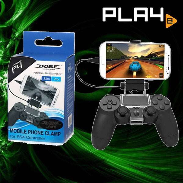 Dobe PS4 Mobile Phone Clamp (PS4 Controller)