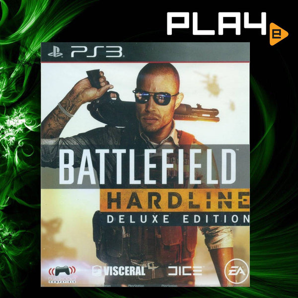 PS3 Battlefield Hardline [Deluxe Edition]