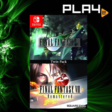 Nintendo Switch Final Fantasy VII & Final Fantasy VIII Remastered Twin Pack