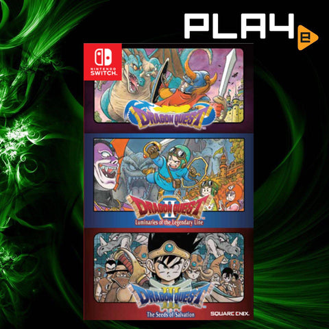 Nintendo Switch Dragon Quest 1+2+3 Collection
