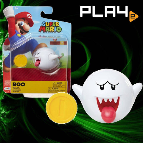 "World of Nintendo 4"" Fig W18 Boo"