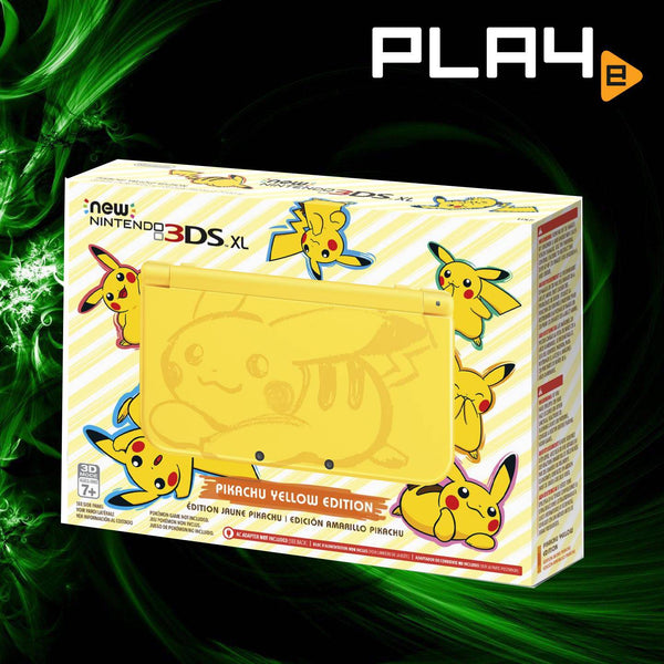 3DS New XL Nintendo Pikachu Yellow Edition