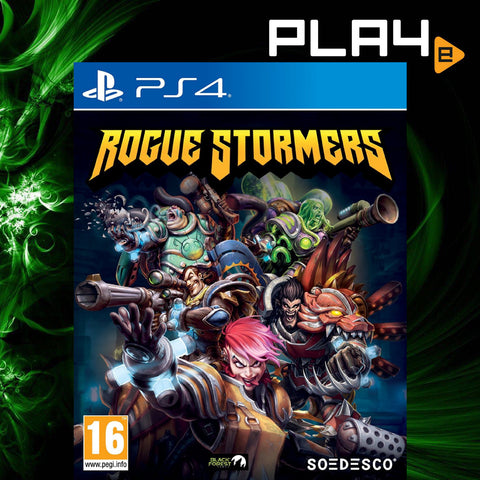 PS4 Rogue Stormers (Region 2)