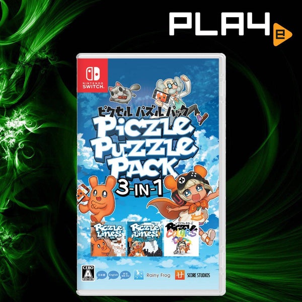Nintendo Switch Piczle Puzzle Pack 3-in-1