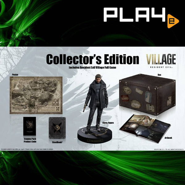 PS4 Resident Evil 8 Village Collector (R3)