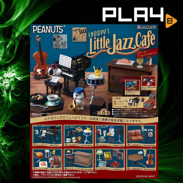 Re-Ment Peanut Snoopy's Little Jazz Cafe (Set of 8)