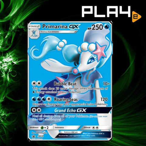 Pokemon Primarina Promo Card