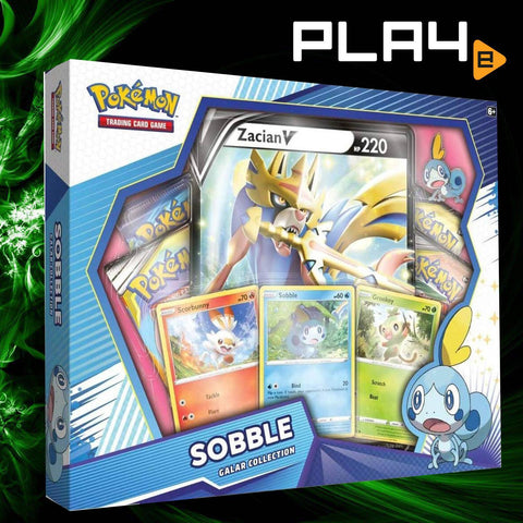 Pokemon TCG Sobble Galar Collection Box