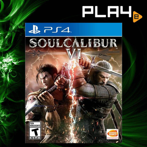 PS4 Soul Calibur VI (US)