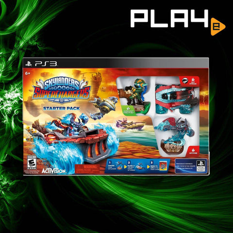 PS3 Skylanders SuperChargers (Starter Pack)