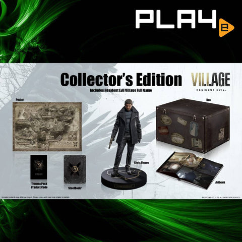 PS5 Resident Evil 8 Village Collector (R3)